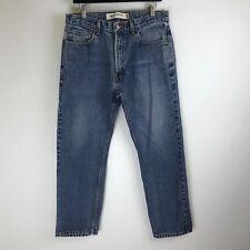 Levis Jeans - 505 Regular Fit Distressed Wash - Tag Size: 34x30 (32x28) - #4233