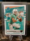2020 Donruss Tua Tagovailoa Rated Rookie RC Card #302 Miami Dolphins. rookie card picture