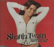 SHANIA TWAIN with MARK McGRATH Party for Two 2 TRACK CD   NEW - NOT SEALED