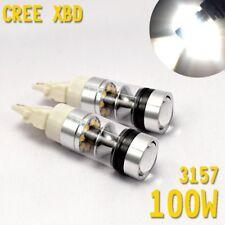 Front Signal White XBD 3157 4157 CREE LED Daytime Running Light For Dodge Ram