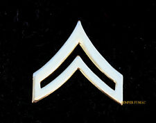 CORPORAL CPL E-4 GOLD HAT PIN UP US ARMY VETERAN MILITARY RANK CHEVRON WOW