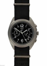 Nylon Strap Military Wristwatches with Chronograph