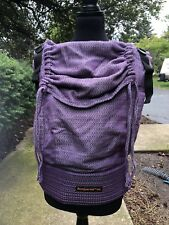 328f240f24a Bamberoo Custom Baby Toddler Carrier - Full Cashmere Purple Heartweave  AMAZING!