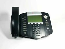 New Polycom SoundPoint IP650 SIP Phone with Stand, Handset, Power Supply