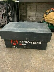 Armorgard OxBox Secure Van Vault Site Storage Safe Box Tool