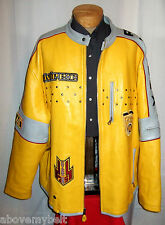 "AVIREX ""RACING"" LEATHER  Jacket/Coat***6XL***$800***Better Than EXCELLENT!"