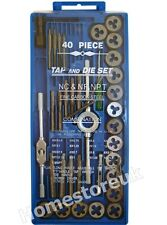 40PC FINE CARBON STEEL PROFESSIONAL CUTTING SCREW THREAD TAP AND DIE SET TD100