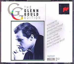 Glenn GOULD: HINDEMITH Trumpet Horn Tuba Trombone Sonata 2CD Mason Jones Brass