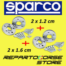 SPARCO WHEEL SPACERS KIT (2 x 12mm + 2 x 16mm) WITH BOLTS AUDI A4 S4 8E2 8E5 B6