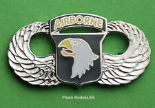 """101st Airborne Division Army Paratrooper Jump Wing """"The Screaming Eagles"""""""
