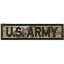 [Patch] U.S. ARMY cm 13 x 3 toppa ricamata ricamo US ARMY -143
