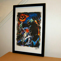 Headless Horseman Legend of Sleepy Hollow Halloween Print Poster Wall Art 11x17