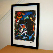 Headless Horseman, The Legend of Sleepy Hollow, Halloween, 11x17 PRINT w/COA