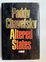 Altered States by Paddy Chayefsky, 1st Edition / 1st Printing, Harper Row, 1978