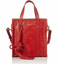 BALENCIAGA Arena Leather Chinese New Year Bazar Shopper Tote XS in Red