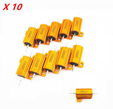 Universal 10P Car Load Resistor 25W 8Ω Fix LED Bulb Fast Flash Turn Signal Light