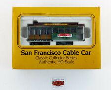 """BACHMANN H0 60542 - TRANVÍA DE SAN FRANCISCO """"POWELL & MASON"""" - COMO NUEVO - OVP"""
