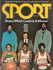 March 1974 Sport Magazine- Bill Russell Dick Motta Wilt Chamberlain HOF No Label