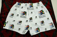Microsoft Windows Boxer Shorts- Ultra Rare Vintage (36-38 waist, Made in Usa)