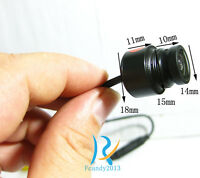 Inlay type Waterproof outdoor 170 degree color security Video small micro camera