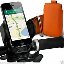 Soportes de color principal naranja para teléfonos móviles y PDAs Universal