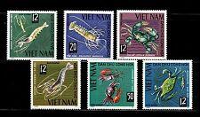 SELLOS FAUNA MARINA VIETNAM 1965 442/47 6v.