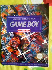 Le guide officiel des jeux Game Boy Nintendo COLLECTOR RARE