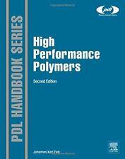 High Performance Polymers (Plastics Design Library), Fink 9780323312226 New.=