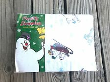 VTG New 2001 Frosty The Snowman Mervyns TWIN Sheet Set sealed in package
