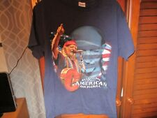 Classic/Country/T-Shirt(W illie/Nelson/An/American/O riginal)Preowned/Size/M/Ni ce