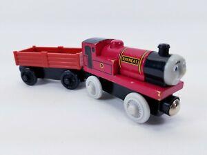 RHENEAS (2003) / RETIRED & Cargo Car Thomas Wooden Railways - Free Shipping