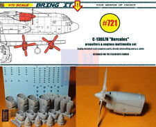 """1/72. C-130E/H """"Hercules"""" engines resin set, by """"Bring it!""""/""""MLH"""" #721"""