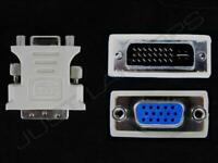 Neu Original Dell Wyse Dvi-I Stecker Zu VGA Buchse Adapter Konverter Beige