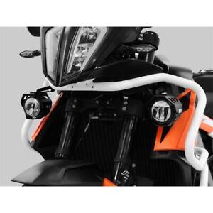 LED Custom Headlights For Fog Housing KTM 790 Adventure Yr 2019-20 Black