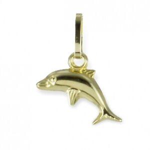 Anhänger Delphin Gold 333