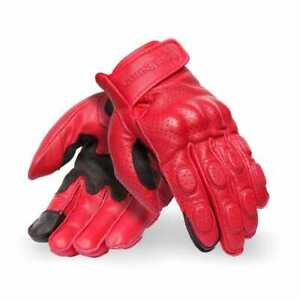 Royal Enfield Burnish Gloves - Red