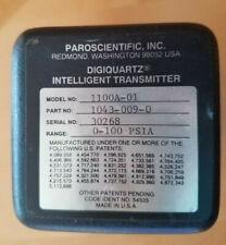 Paroscientific Pressure Transducer Transmitter, 100 PSIA, Model 1100-1