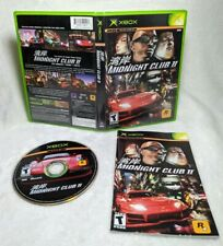 Midnight Club II 2 (Microsoft Xbox, 2003) Complete