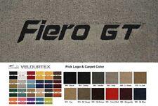 Lloyd Mats Pontiac Fiero GT Custom Embroidered Velourtex Floor Mats (1984-1988)