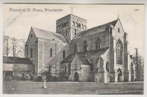 Hampshire postcard - Church of St Cross, Winchester (A650)