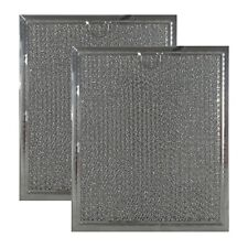 2 PACK Compatible GE WB6X486 WB06X10125 AF4271 G-5798 Microwave Grease Filters