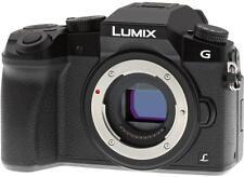 Panasonic Lumix DMC-G7 Mirrorless Micro Four Thirds Digital Camera - Black