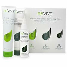 Revive Procare 3 Part System For Reducing - Hair Loss Kit. Free Delivery