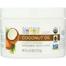 "Aura Cacia Coconut Oil, Unrefined, Fair Trade Certified"", Organic, 6.25 Oz. Jar"