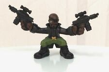 Marvel Super Hero Squad Nick Fury Two Guns from Avengers Wave 4 Secret Invasion