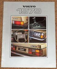 1979 VOLVO RANGE Sales Brochure - 262C 264GLE 265GL 245GL 244DL 343DL - VGC
