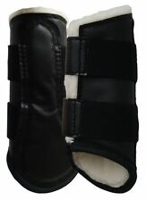 Pelham Ascot SMALL / BLACK Washable Soft Fleece DRESSAGE / SPLINT BOOT