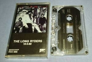THE LONG RYDERS 10-5-60 EP cassette tape album A1201