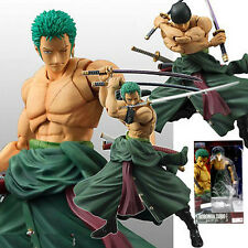 "ONE PIECE/ FIGURA ZORO RORONOA 18 CM- VARIABLE ACTION HEROES  7"" IN  BOX"