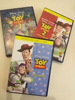 Dvd lote/lot 3(1,2,3  Toy story  collection( lot  in English)special edition